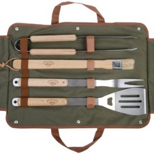 Esschert-Gt37-50-x-26-x-5cm-BBQ-Tools-Wood-Metal-Multi-color-0