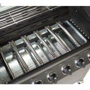 Fireplus-61-Gas-Burn-Grill-BBQ-Barbecue-w-Side-Burner-Storage-0-0