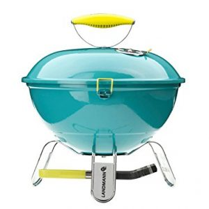 Landmann-Piccolino-Round-Barbecue-in-A-range-of-colours-with-4-Spieen-0