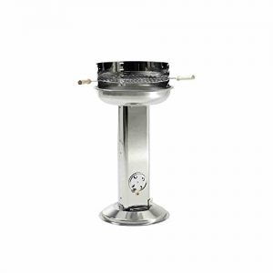 Landmann-Stainless-Steel-Pedestal-Charcoal-Barbecue-0