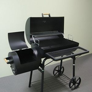 OGA032-Barbecue-Grill-Professional-XXL-Smoker-Charcoal-Approximately-15-mm-Thick-Steel-Professional-Quality-OGA032-0