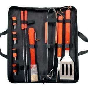 Prima-11-Piece-BBQ-Cooking-Tool-Set-With-Carry-Bag-Stainless-Steel-Utensils-0