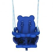 Blue-Folding-Swing-Outdoor-Indoor-Swing-Toddler-Swing-with-safety-Baby-Seat-for-babychirldrens-Gift-0-3