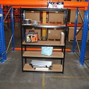 180cm-x-120cm-x-45cm-Black-5-Tier-175KG-Per-Shelf-875KG-Capacity-Extra-Wide-Garage-Shed-Storage-Shelving-Unit-5-Year-Warranty-0-0