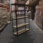 180cm-x-120cm-x-45cm-Black-5-Tier-175KG-Per-Shelf-875KG-Capacity-Extra-Wide-Garage-Shed-Storage-Shelving-Unit-5-Year-Warranty-0-2