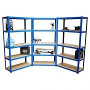 180cm-x-90cm-x-40cm-5-Tier-175KG-Per-Shelf-875KG-Capacity-Garage-Shed-Storage-Shelving-UnitsP-0-0