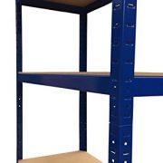 3-x-Racking-Bays-90cm-x-180cm-x-45cm-5-TIER-SHELVING-BAYS-STORAGE-SHELF-UNIT-WAREHOUSE-GARAGE-HEAVY-DUTY-BOLTLESS-STEEL-RACKING-FREE-MALLET--0-5
