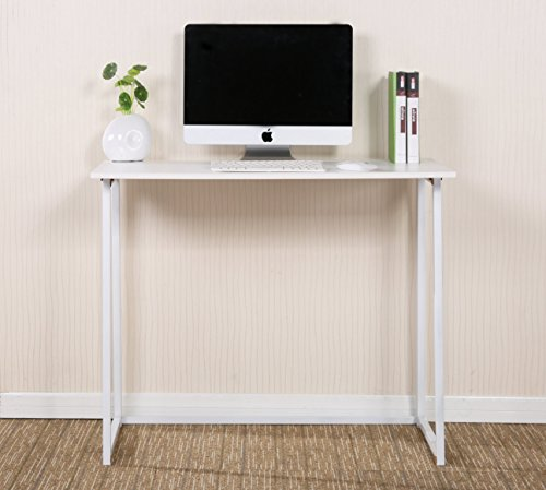 Cherrytree Furniture Compact Foldable Computer Desk Laptop