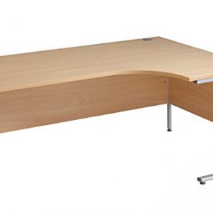 Ergonomic-1600mm-Right-Hand-Oak-Corner-Office-Desk-Computer-Table-0