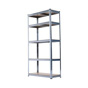 HOMCOM-Storage-Rack-180cm-5-Shelf-Heavy-Duty-Garage-Shelving-Shelves-Unit-0