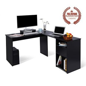 L-Shaped-Office-Computer-Desk-Large-Corner-PC-Table-with-monitor-stand-for-Home-and-Office-UseWhite-Wood-Grain2-Carton-Packages--0