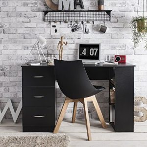 Laura-James-Computer-Desk-3-Drawers-3-Shelves-Home-Office-Table-Workstation-0
