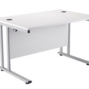 Office-Hippo-Rectangular-Cantilever-Workstation-Desk-White-Frame-0