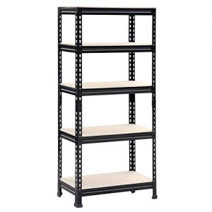 Oypla-750kg-Heavy-Duty-5-Tier-Metal-Storage-Garage-Shelving-Racking-0