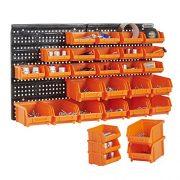 VonHaus-Wall-Mount-Storage-Organiser-Bin-Panel-Rack-0-0