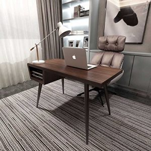 Windsor-Brown-Wood-Effect-Large-Computer-PC-Home-Executive-Study-Office-Corner-Desk-Cupboard-0
