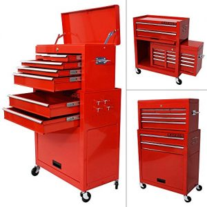 Workshop-trolley-for-Tools-with-Luggage-attachment-Garage-Workshop-Working-0