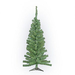 4FT-Artificial-Green-Christmas-Tree-Indoor-Xmas-Decoration-Easy-Fold-Branch-NEW-0