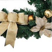 6Ft18M-Decorated-Garland-Christmas-Decoration-Xmas-Festive-Wreath-Garland-With-Berries-And-Pinecones-Gold-0-3