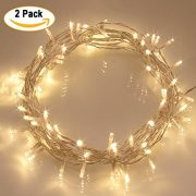 6ft-Artificial-Xmas-Christmas-Tree-2-Pack-40-LED-Warm-White-Outdoor-Battery-Fairy-Lights-Gift-Decorations-0-1