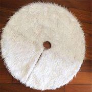 HENGSONG-White-Christmas-Tree-Plush-Skirt-Base-Cover-Decoration-Xmas-Decorations-78CM-0-1