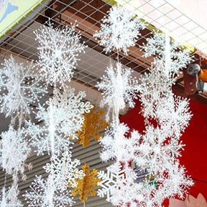 JH-New-Classic-White-Snowflake-Ornaments-Christmas-Holiday-Party-Home-Dcor-0