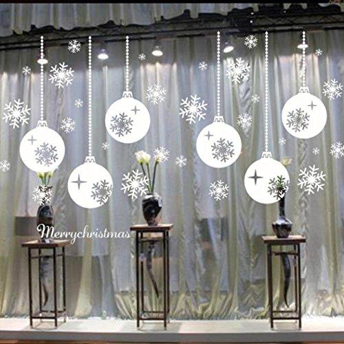 Koedu-Lovely-White-Christmas-Deer-Wall-Sticker-for-Window-Home-Decor-0
