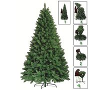 Premium-Green-Artificial-Christmas-Xmas-Tree-Pine-Metal-Stand-Tips-Spruce-6FT-180cm18m-700-Tips-0-0