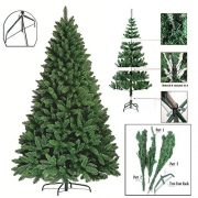 Premium-Green-Artificial-Christmas-Xmas-Tree-Pine-Metal-Stand-Tips-Spruce-6FT-180cm18m-700-Tips-0-1