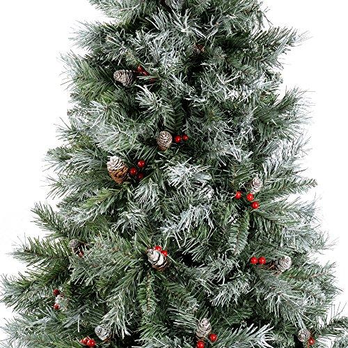 Werchristmas Scandinavian Blue Spruce Christmas Tree