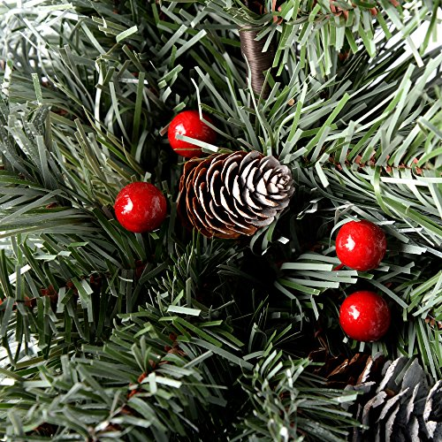 Christmas Tree With Pine Cones And Berries: WeRChristmas Scandinavian Blue Spruce Christmas Tree