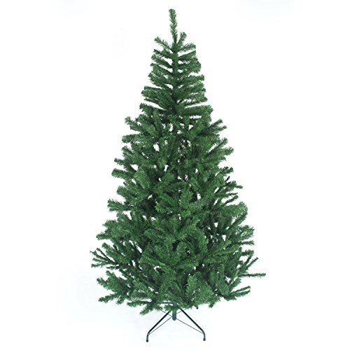 shatchi-Gift-4-All-Occasions-15m-5ft-Christmas-Tree-GREEN-Artificial-Tree-390-Tips-with-Metal-Stand-0