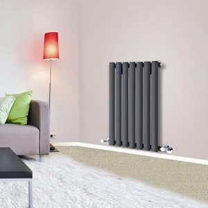 Designer-Oval-Column-Panel-Bathroom-Radiators-Central-Heating-Anthracite-White-0