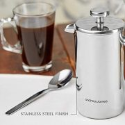 Andrew-James-Double-Walled-Stainless-Steel-Cafetiere-Gift-Set-With-Coffee-Measuring-Spoon-And-Bag-Sealing-Clip-0-3