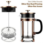 French-Press-Famirosa-French-Press-Coffee-Maker-for-Coffee-Tea-Camping-and-Office-8-Cups-1000ml-34-Oz-4-Filters-0-0