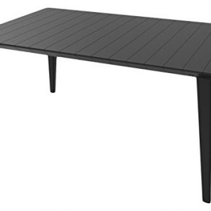 Allibert-by-Keter-Lima-Outdoor-Garden-Furniture-Dining-Table-Graphite-0
