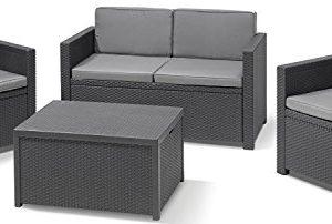 Allibert-by-Keter-Monaco-Outdoor-4-Seater-Rattan-Lounge-Garden-Furniture-Set-0
