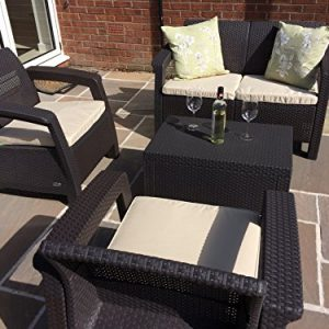 Keter-Corfu-Brown-Rattan-Garden-Furniture-Set-Sofa-Two-Arm-Chairs-And-Cushion-Storage-Box-That-Doubles-As-A-Table-0