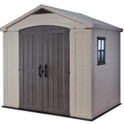 Keter-Factor-Resin-Outdoor-Garden-Storage-Shed-0