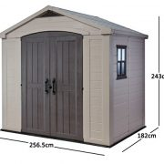 Keter-Factor-Resin-Outdoor-Garden-Storage-Shed-0-8