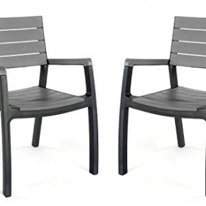 Keter-Harmony-Outdoor-Patio-Furniture-Graphite-0