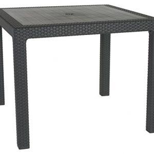 Keter-Rattan-Patio-Outdoor-Garden-Furniture-Dining-Table-0