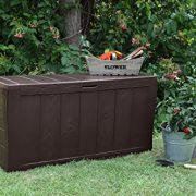 Keter-Sherwood-Outdoor-Plastic-Storage-Box-Garden-Furniture-117-x-45-x-575-cm-Brown-0-3