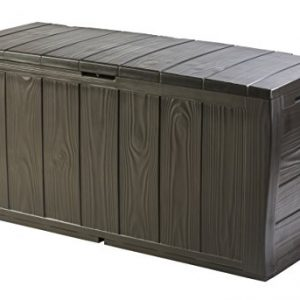 Keter-Sherwood-Outdoor-Plastic-Storage-Box-Garden-Furniture-117-x-45-x-575-cm-Brown-0