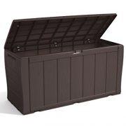 Keter-Sherwood-Outdoor-Plastic-Storage-Box-Garden-Furniture-117-x-45-x-575-cm-Brown-0-5