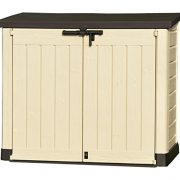 Keter-Store-It-Out-Max-Plastic-Outdoor-Garden-Storage-Shed-Beige-and-Brown-0-0