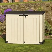 Keter-Store-It-Out-Max-Plastic-Outdoor-Garden-Storage-Shed-Beige-and-Brown-0-3