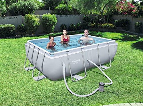 Bestway Power Steel Rectangular Swimming Pool 3662 Litres