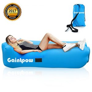 Inflatable-Lounger-Gaintpow-Waterproof-Air-Lounger-with-Thicker-Fabric-Portable-Lazy-Lounger-Inflatable-Sofa-Couch-Outdoor-Sofa-for-Camping-Hiking-Swimming-Pool-Beach-Backyard-Travelling-2018-Improved-0