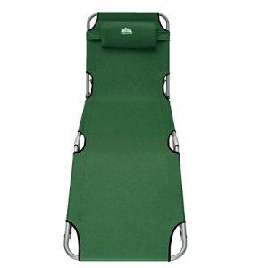 KING-DO-WAY-Reclining-Folding-Sun-Garden-Outdoor-Patio-Guest-Bed-Lounger-Recliner-Seat-Chair-0